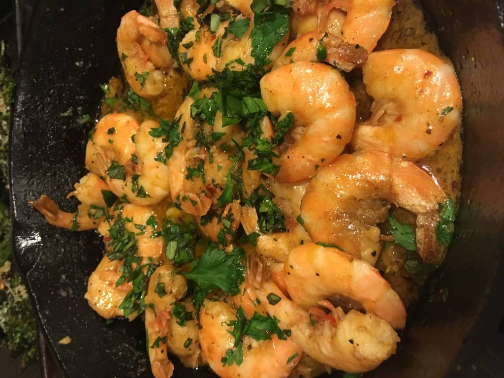 Shrimp with Butter and Garlic: CheapCooking.com