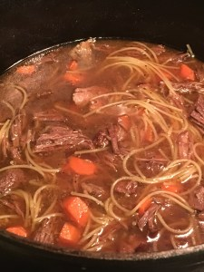 Beef and Vermicelli Soup