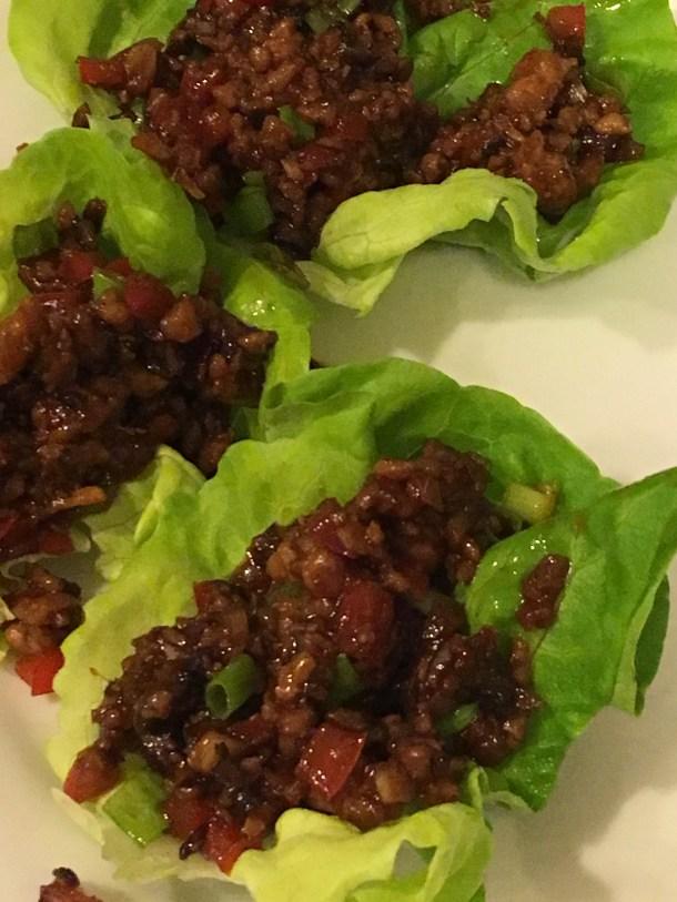 Teigen's Chicken Lettuce Wraps