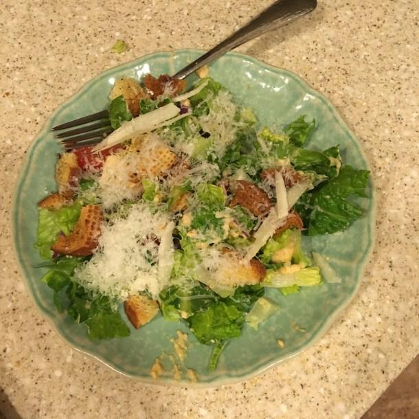 Sriracha Caesar Salad