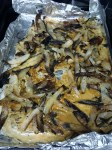 sheet pan cream and thyme roasted onions