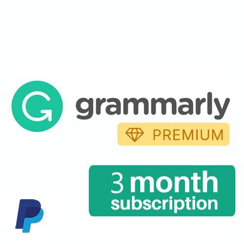 Grammarly 3 Months