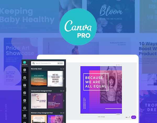 Canva Pro Premium Account