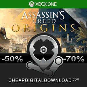 Assassins Creed Origins Xbox One Code Price Comparison
