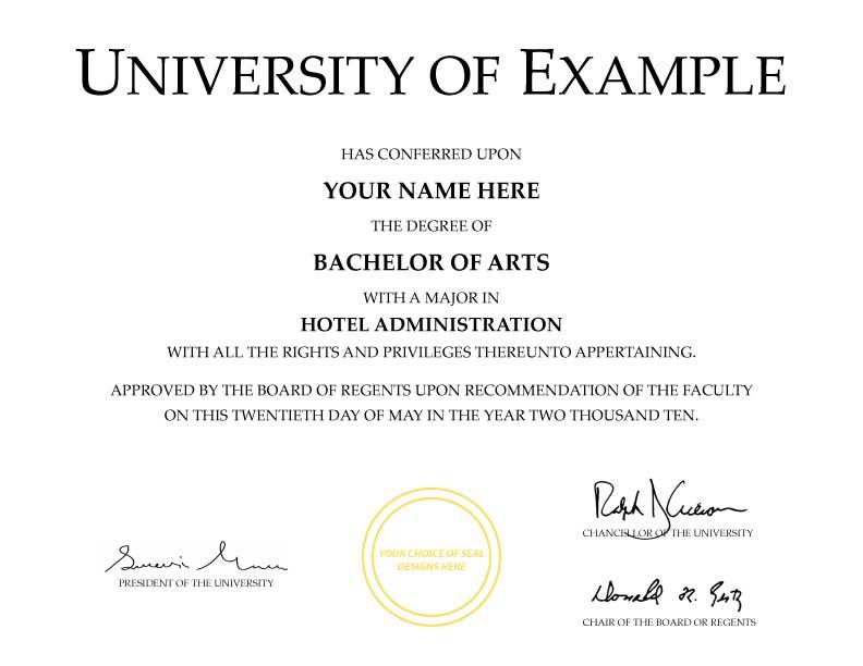 university diploma template anuvratinfo – Degree Templates