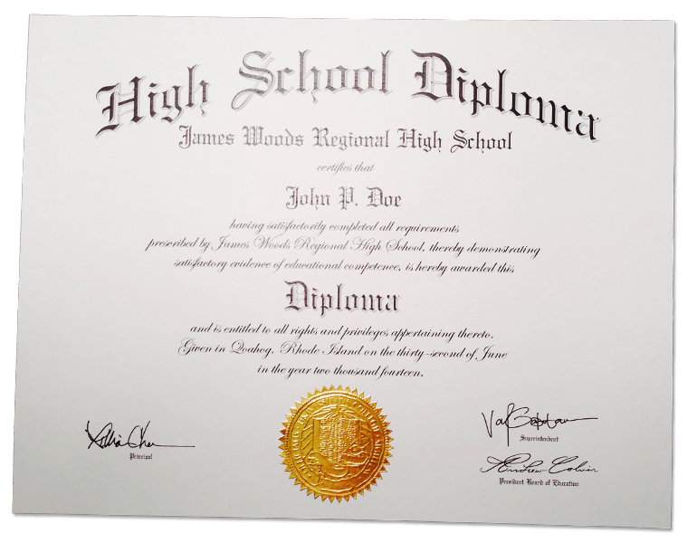 Fake High School Diplomas Customize Your Own Buy Online