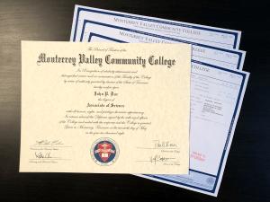 Fake College Diploma & Transcripts