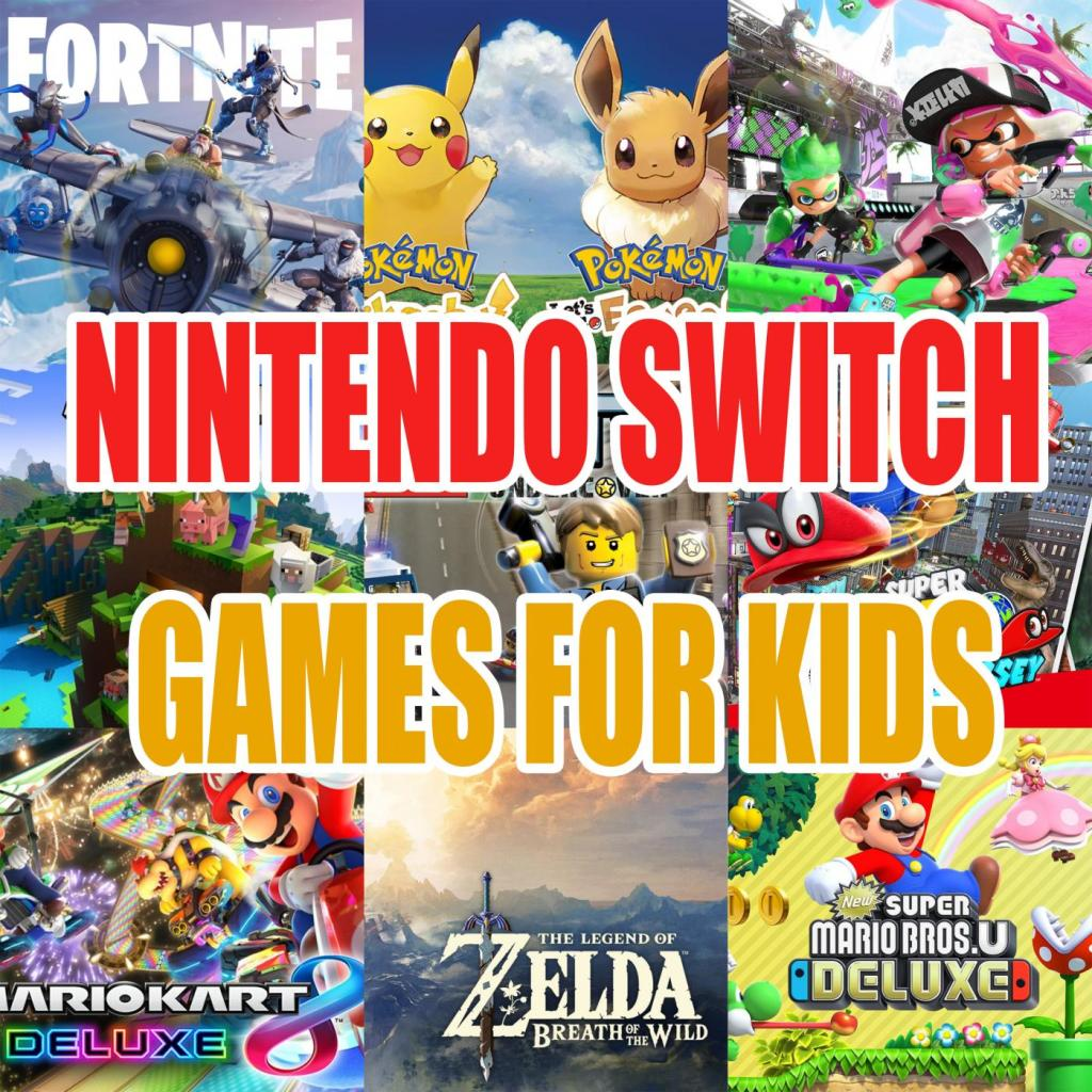 Nintendo Switch Games for Kids