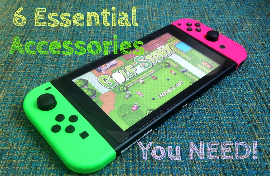 Nintendo Switch Essential Accessories -Cheaper gamer feature 2