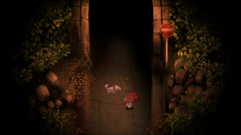 Yomawari Review Girl and Dog picture