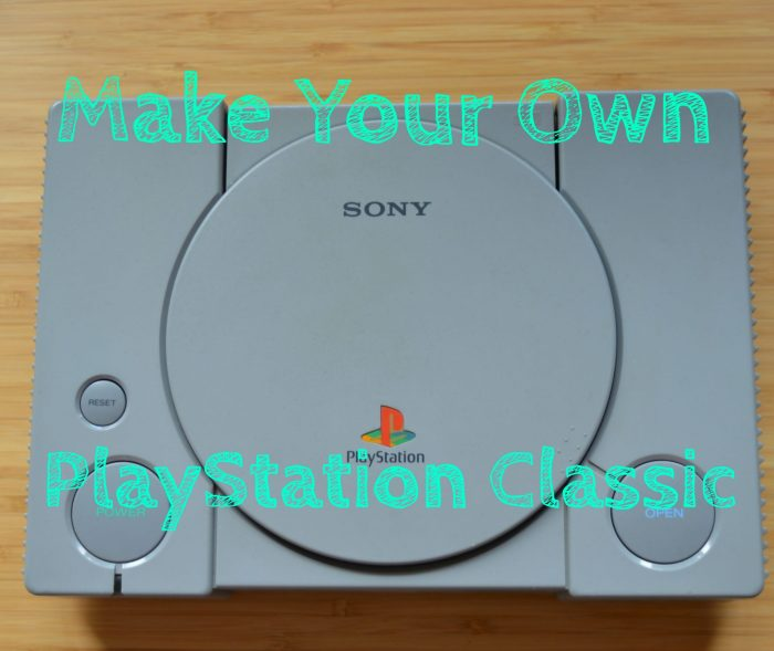make your own playstation classic guide