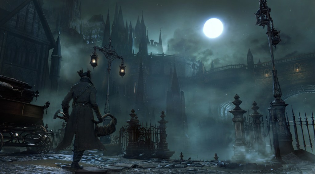 BEST PS4 HORROR GAMES - BLOODBORNE