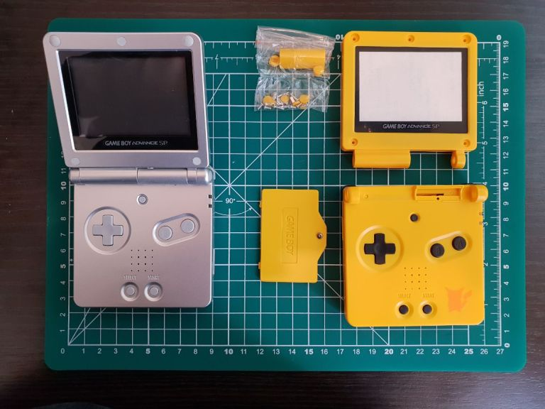GBA SP Re Shell