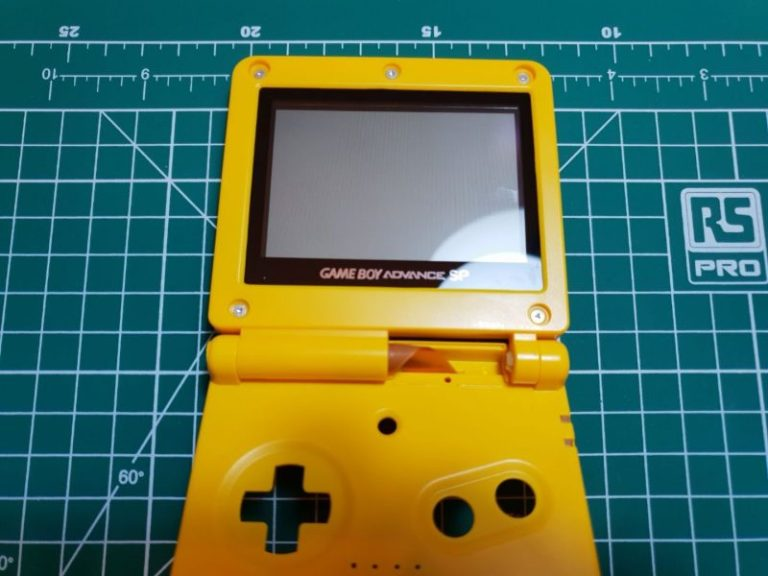 how to reshell a GBA sp