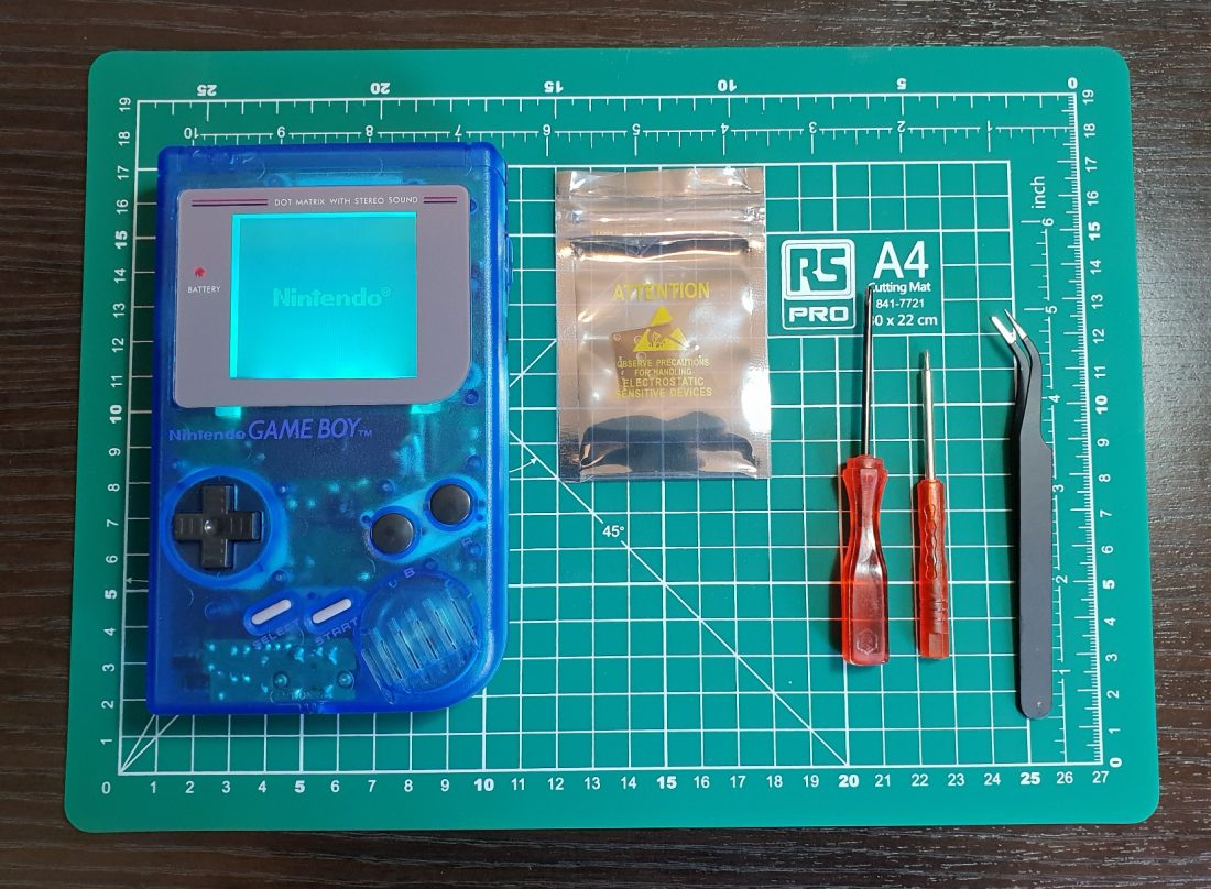 how to bivert game boy feature