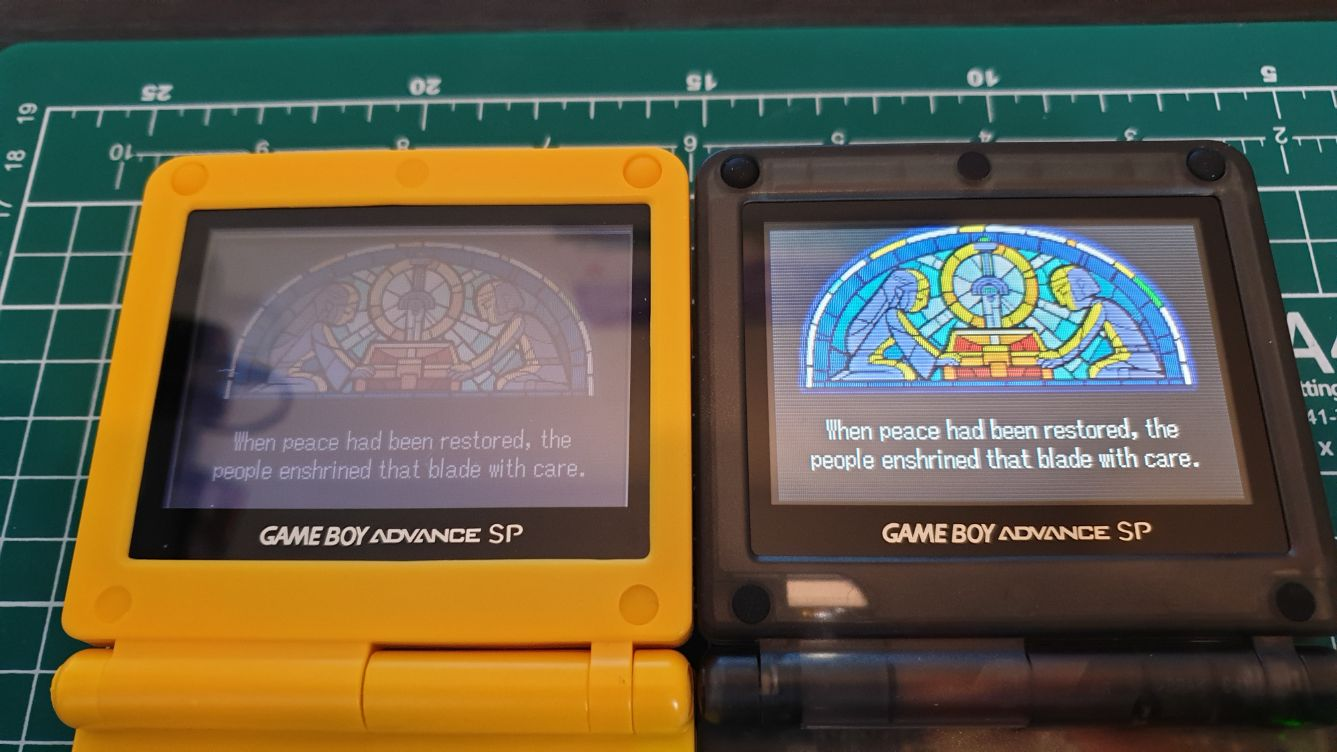 HOW TO INSTALL AGS 101 INTO GBA SP