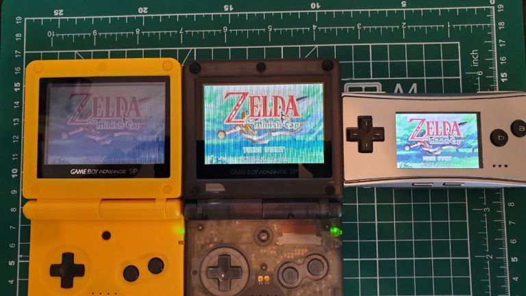 HOW TO INSTALL AGS 101 INTO GBA SP 1