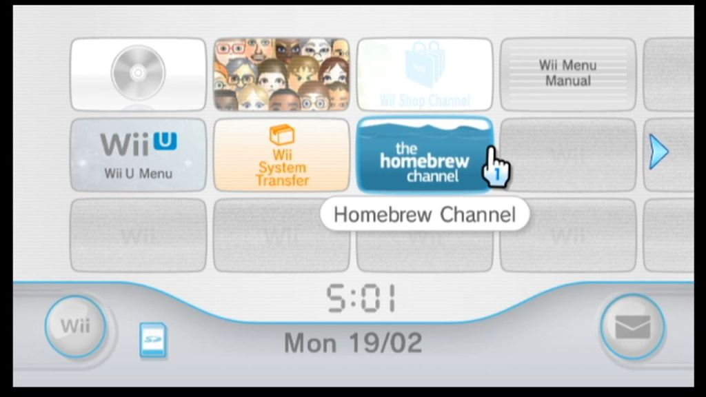 Homebrew channel install 2020