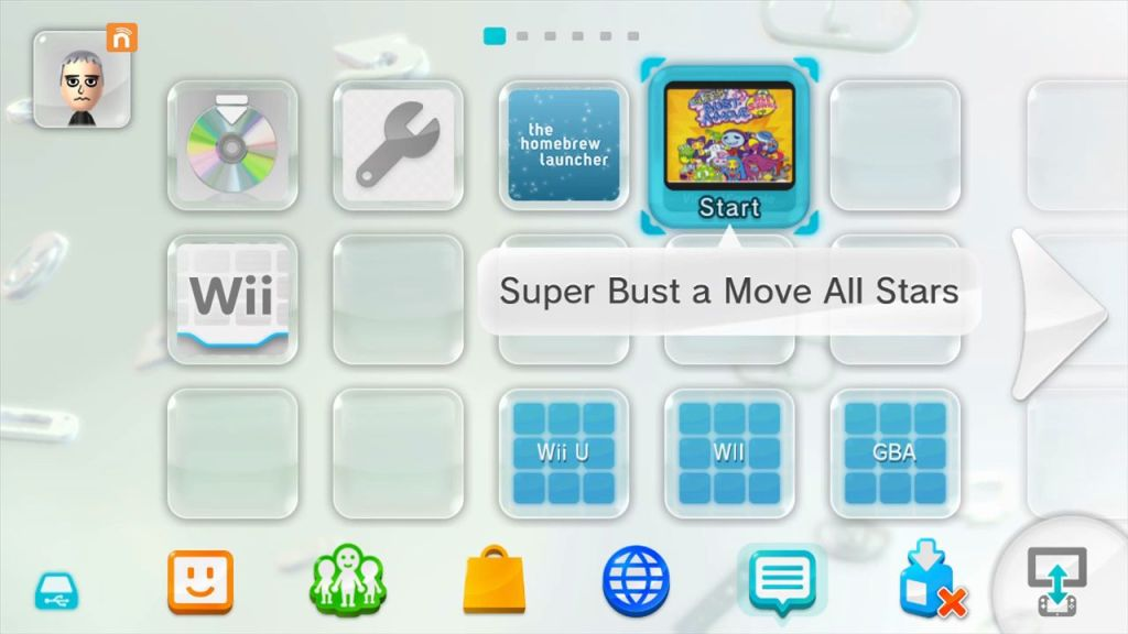 GameCube install wii u