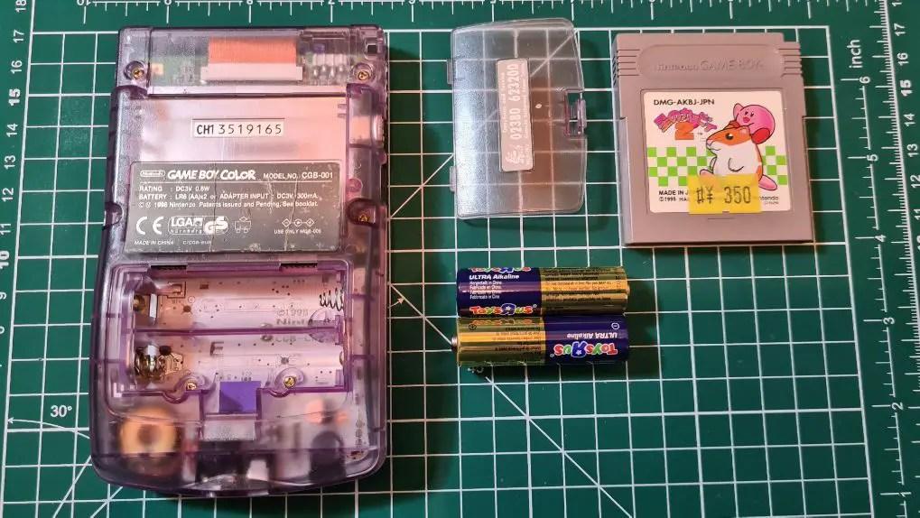 Game Boy Color Backlight guide easy batteries