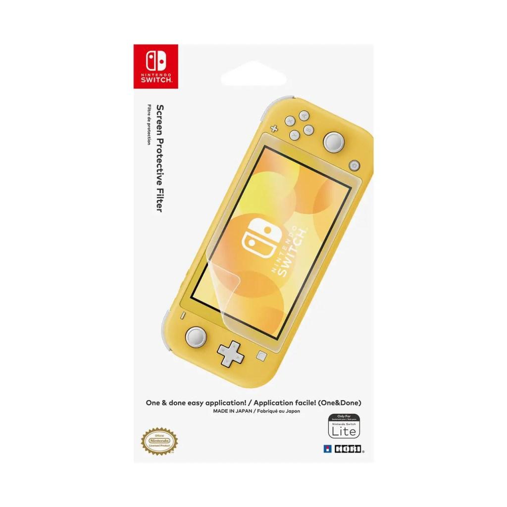 Nintendo Switch lite essential accessories Hori Screen protector