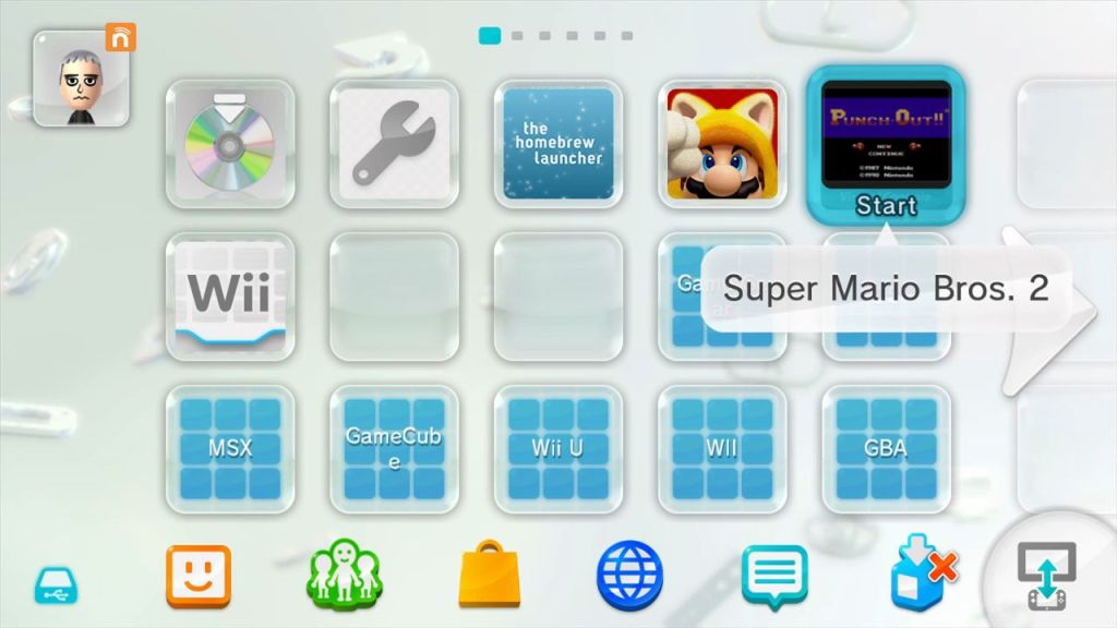WII U VC INJECTION NES