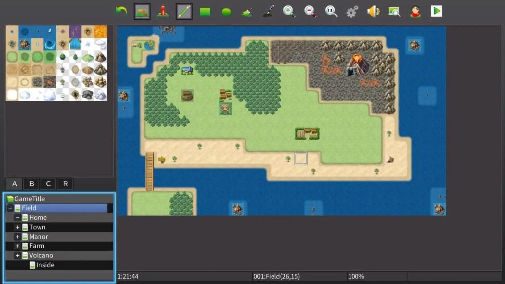 RPG Maker MV Switch Map Editor