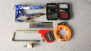 Algunas de las herramientas de mano que uso para trabajar en mis proyectos