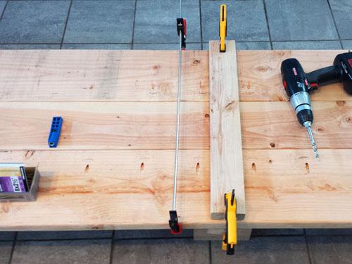 como hacer una encimera de madera para escritorio