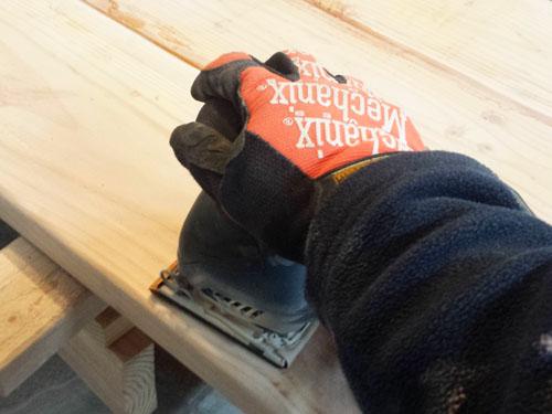 Lijando encimera de madera