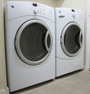 GE Washer and Dryer, the dryer starts, then stops