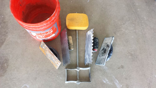 Tiling tools a homeowner needs for flooring improvement projects