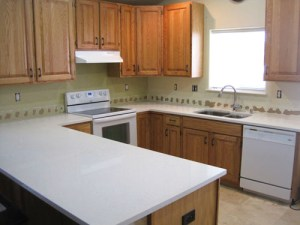 Upgrading From Laminate To White Quartz Kitchen Countertops