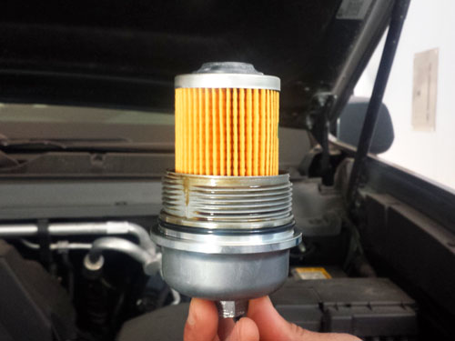 How to do an oil chance, changing oil filter