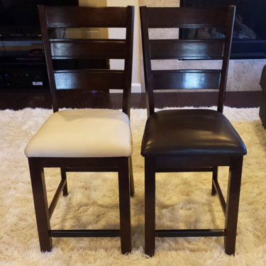 Reupholstering Dining Room Chairs An Easy And Inexpensive Diy Project