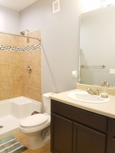 How to build a full bathroom in basement