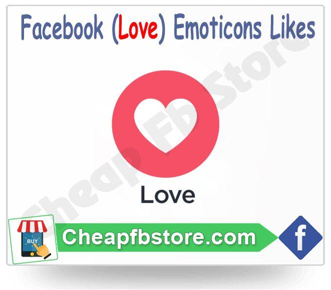 Buy Love Facebook Emoticons Post Likes
