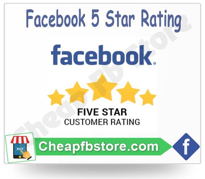 Facebook Fiver Star rating