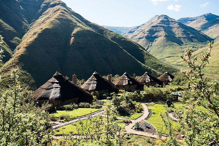 Navigate Through The Breathtaking Scenery Of Lesotho
