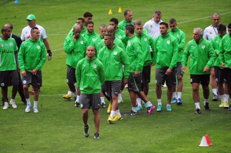 Algeria Land In Uyo Ahead Of Saturday's Clash 4