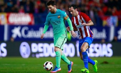 Messi Late Goal Settle Barca's Nerve Against Athletico 4