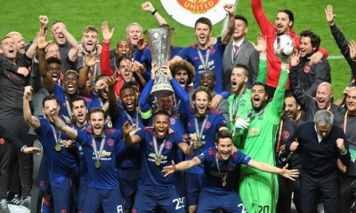 Manchester Utd Crowned Europa League Champions On Emotional Night 6