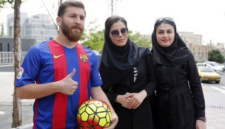 Reza Parastesh, Lionel Messi Lookalike Arrested In Iran 15