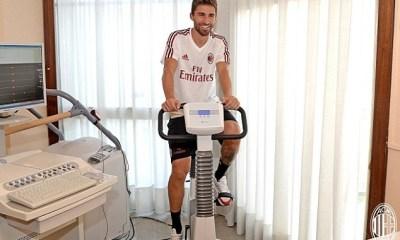 Fabio Borini Undergoes AC Milan Medical 6