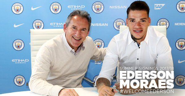 Official: Manchester City Complete £34.9m Signing Of Ederson Moraes 4
