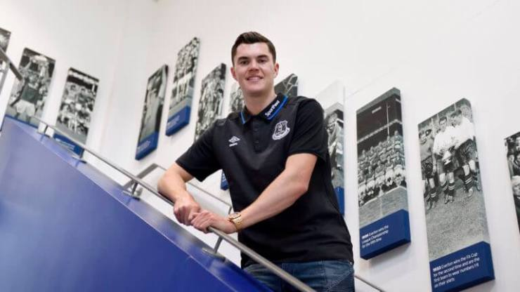 Official : Burnley Defender Michael Keane Sign Five-Year Deal With The Toffees 7
