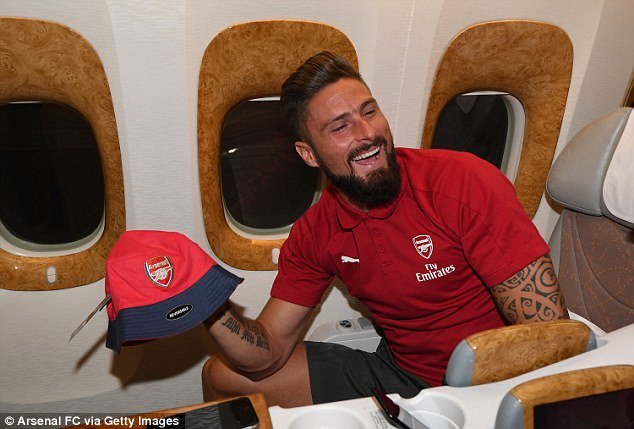 Arsenal Jet Out For Two-Week Pre-Season Tour Of Australia And China 16