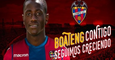 Official: Levante UD Secure Signing Of Ghanaian Striker On A Four Year Deal