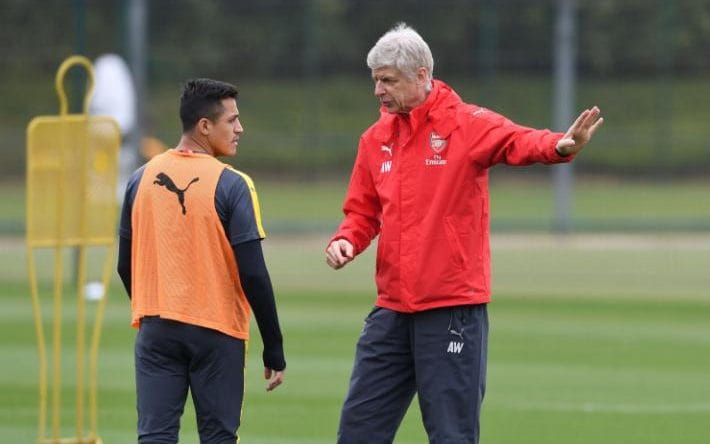 Alexis Sanchez Resumes Arsenal Training, Is He Staying? 4