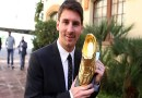 Lionel Messi Set For Fourth Golden Boot